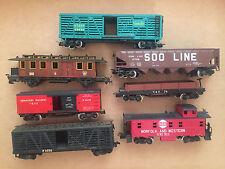 Rivarossi/Pocher  7 verschiedene Güterwagen