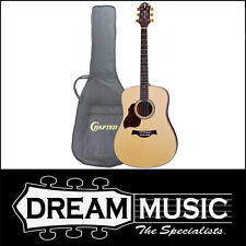 Crafter CR-D8L/N W/SB Left Handed Acoustic Dreadnought Guitar RRP$599