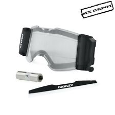 New Oakley Frontline MX Goggle Roll Off System