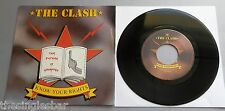 "The Clash - Know Your Rights 1982 CBS Holland 7"" Single P/S"