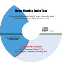 AU Home Hearing Audio Test Tones CD: Easy Tests @ Home!