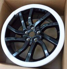 "Land Rover OEM Discovery Sport Evoque LR2 Aeroviper Black 18"" x 8"" Wheel Set NEW"