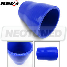 """Blue Silicone Hose Straight Reducer 2"""" To 2.25"""" Inch 3-Ply Coupler turbo/piping"""