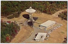 ROSMAN NC NASA SPACE RADAR DISH nr ASHEVILLE NC HENDERSONVILLE  BREVARD postcard