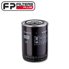 W940/15N Mann Oil Filter - Ford, Massey Ferguson - BT111, LF3449, P553411