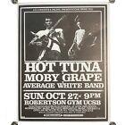 "Vintage Hot Tuna Mint Grape Average White Pacific Presentations Poster 22 X 17"""