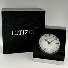 Citizen Decorative Modern Table Desk Clock With Box Free Shipping!!