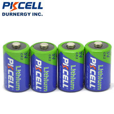 (Pack of 4) PKCELL Ultra CR2 DL-CR2 3V Photo Lithium Battery For Lamp Camera