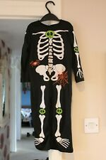 TU Skeleton spooky dressing up costume halloween age 1-2 years