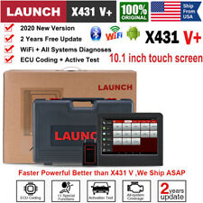 2020 New Launch X431 V+ ScanPad OBD2 Auto Diagnostic Tool All System Active Test