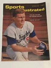 Sports Illustrated NO LABEL September 2, 1963 Ron Fairly LA Dodgers Newsstand