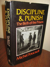 1st Edition DISCIPLINE & PUNISH Michel Foucault BIRTH OF PRISON Philosophy FIRST