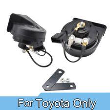 110-125db 410/510Hz Dual Tone Snail Horn For Toyota RAV-4 Tacoma Yaris Prius