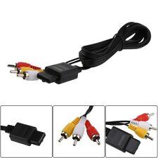 AV Nach RCA 6 'Audio Videokabel Kabel for Super Nintendo GameCube N64 SNES NGC