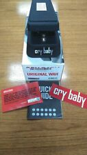 Dunlop Cry Baby Wah Pedal GCB-95 with Red Fasel Inductor with Box and Papers