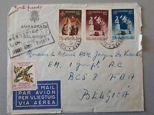 enveloppe timbrée colombie : 1963