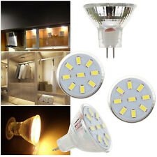 MR11 Foco Bombilla LED 2W 3W 4W 12-24V 5733 2835 SMD 10W 20W Lámpara equivalente rl