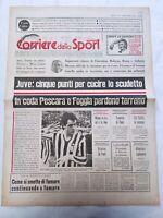 CORRIERE DELLO SPORT 20-2-1978 JUVENTUS LAZIO FIORENTINA BOLOGNA MILAN INTER