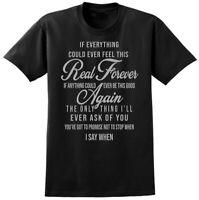 Foo Fighters Everlong Lyrics T-shirt - Music Song Fan Tee - Mens or Ladies Style