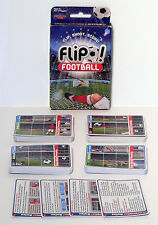 FLIP FOOTBALL! - REAL MATCH DRAMA FEATURING THE REDS & THE BLUES - DRUMOND PARK