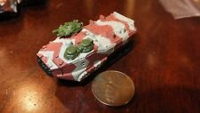 MILITARY MICRO MACHINE RUST LIGHT GREEN CAMO ARMOR AAV-P7A1 AAVP -7A1  LVTP-7