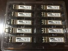 Dell SFP-10G-SR GP-10GSFP-1S WTRD1 0WTRD1 10G 850nm 300 meter over MMF.