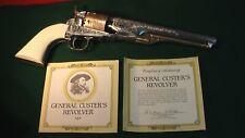 Genera Custer's Revolver 1861 Navy. Franklin Mint Replica. Minty Condition