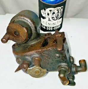 EARLY STYLE Carburetor Fuel Mixer 1 1/2HP IHC M Hit Miss Engine **PARTS ONLY**