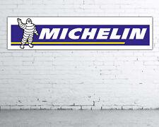 Lona PVC,banner para taller 180 cm x 40 cm Michelin nº14