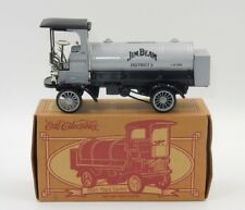 ERTL COLLECTIBLES 1910 MACK TANKER BLACK DIE-CAST METAL COIN BANK W/ BOX!