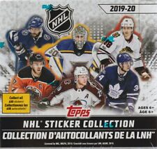 2019 Topps NHL Hockey Sticker Collection 50pk Display Box = 250 Stickers