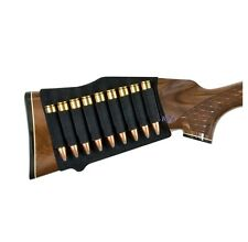 Mossy Oak Buttstock Rifle Shell Holder Hunting - Black MO-RSH-BL