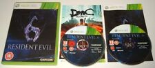 XBOX 360 ** RESIDENT EVIL 6 ** X-BOX 360 SURVIVAL HORROR GAME ** ZOMBIES **