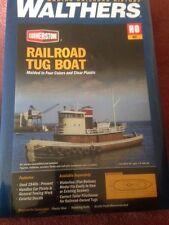 HO Railroad Tug Boat Kit - Walthers Cornerstone 933-3153