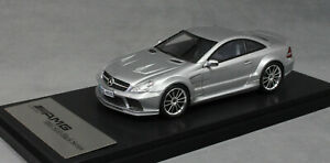 Absolute Hot Mercedes-Benz SL65 AMG Black Series in Silver 2009 MS-094302D1 1/43