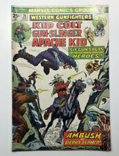 Vintage Comic Book Kid Colt Outlaw Stan Lee 1974 Marvel Great Condition