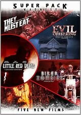 5 Film Super Pack Madness!! (They Must Eat, Evil Offspring, Little Red Devil, B