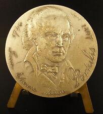 Médaille argent Jean-Étienne-Marie Portalis avocat Code civil silver lawer medal
