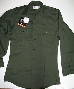 Elbeco G979 TEKTWILL Long Sleeve Basic Duty Shirt, Olive Drab Green