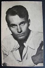 1947~SEXY~HELMUT DANTINE~WARNER BROS FAN PHOTO POSTCARD~SIGNED~UNCOMMON FIND!!