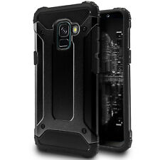 Bumper Case für Samsung Galaxy A5 A8 2018 Slim Outdoor Hybrid Kunststoff Etui