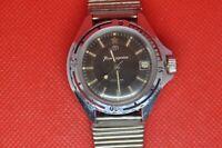 Vintage VOSTOK Zakaz MO USSR Komandirskie military watch,rare Black 226 dial