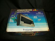 OLD VINTAGE WORKING COMMODORE 64 K PERSONAL COMPUTER & ORIGINAL BOX