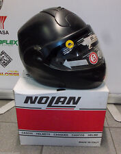 MODULAR MOTORCYCLE HELMET NOLAN N102 CLASSIC N-COM 009 MATT SCHWARZ GRÖßE XS