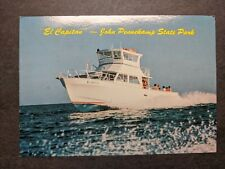 Dive Boat EL CAPITAN, FLORIDA KEYS Naval Cover unused postcard