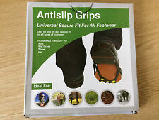 Antislip Grips: Universal Secure Fit for all Footwear, shoe size 8-13