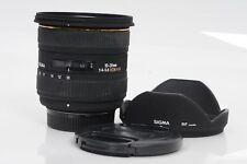 Sigma AF 10-20mm F4-5.6 EX DC HSM Lens Nikon                                #402