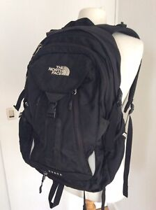North Face Surge Black Daypack Laptop Friendly Backpack