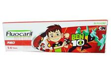 Fluocaril Ben10 RED 2-6 Years Kids Toothpaste Sugar Free Fluoride 65g
