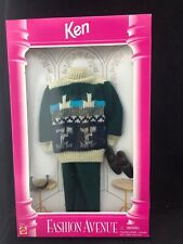 Vintage Barbie Fashion Avenue Ken Sweater Hipster 14676 1995 NEW